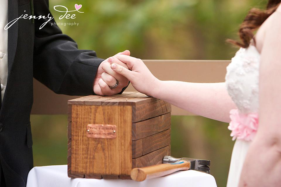 Wedding Time Capsule Or Love Letter Wine Box Ceremony Reverend Kris Miller